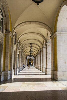 Fototapeta Ministerstwo Sprawiedliwości Building Lizbonie