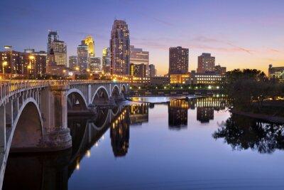Fototapeta Minneapolis.