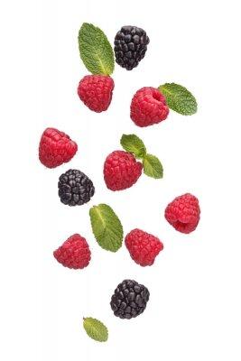 Fototapeta Mix of different berries.