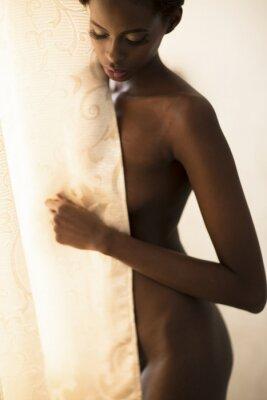 Fototapeta Młoda kobieta afryki