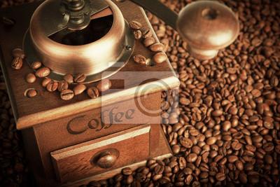 młyn z ziaren kawy
