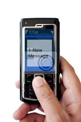 Fototapeta mobile wiadomość / sms