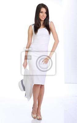 Fototapeta Modele na wybiegu podczas pokaz mody.