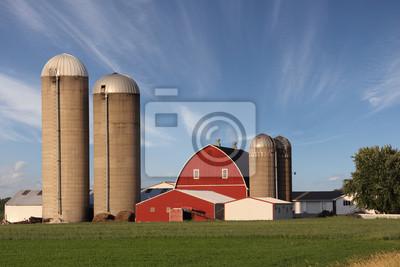 Fototapeta Modern Family Farm