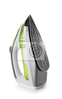 Fototapeta Modern iron on white background
