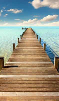 Fototapeta Molo nad morzem