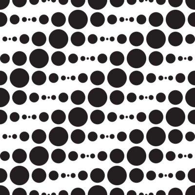 Fototapeta Monochromatyczne wzór geometryczny