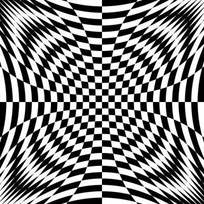 Fototapeta Monochromatyczny Projekt złudzenie jej tle