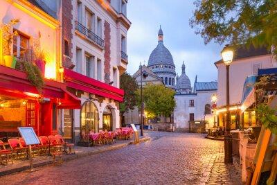 Fototapeta Montmartre w Paryżu, Francja
