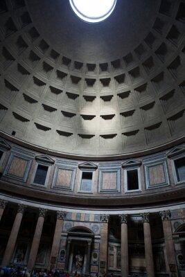 Fototapeta monumentalne  sklepienie w Rzymie