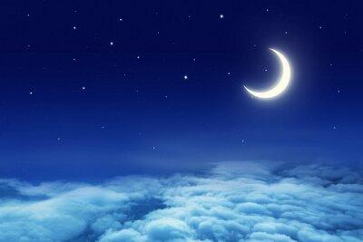 Fototapeta Moon and Sky