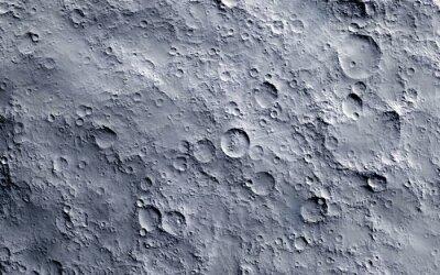 Fototapeta Moon surface
