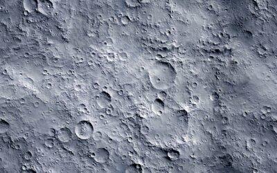 Fototapeta Moon surface. Seamless texture background.