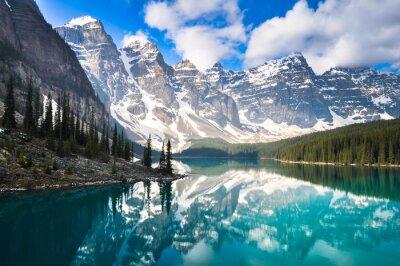 Fototapeta Moraine Lake, Góry Skaliste, Kanada