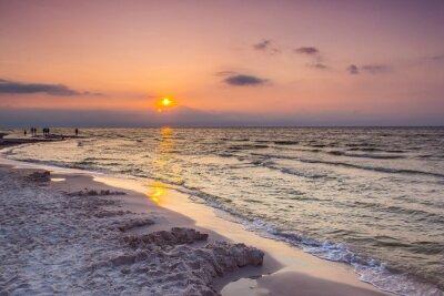 Fototapeta Morze słońca w Polsce