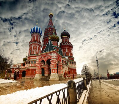 Fototapeta Moskwa St Basil Cathedral