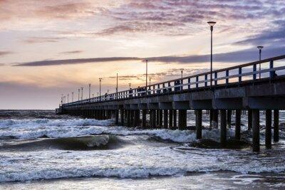 Fototapeta Most i morze