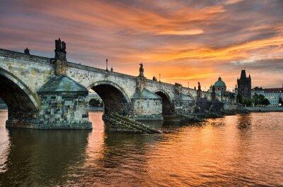 Fototapeta Most Karola w Pradze, Republika Czeska