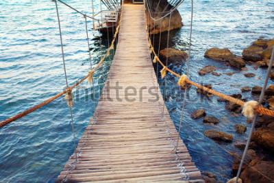 Fototapeta Most linowy