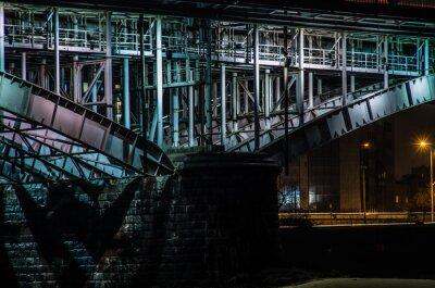 Fototapeta Most Poniatowskiego, Warszawa, Polska