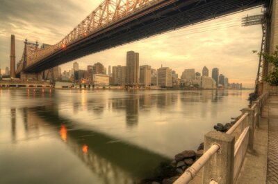 Fototapeta Most Queensboro
