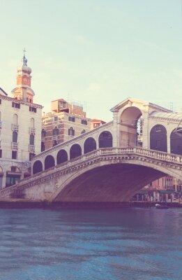 Fototapeta Most Rialto, Wenecja, Włochy