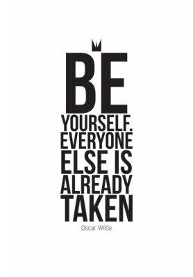 Fototapeta Motivational quotes poster