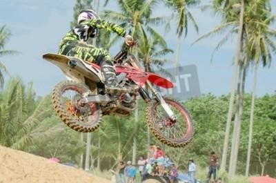 Fototapeta Motocross