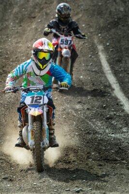 Fototapeta Motocross juniorów