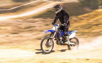 Fototapeta Motocross, zmotoryzowany Sport, Race Sport.