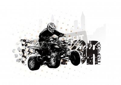 Fototapeta Motorsport