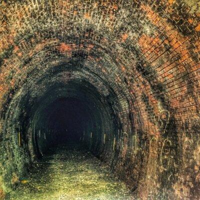 Fototapeta można zobaczyć światło na końcu tunelu ?!