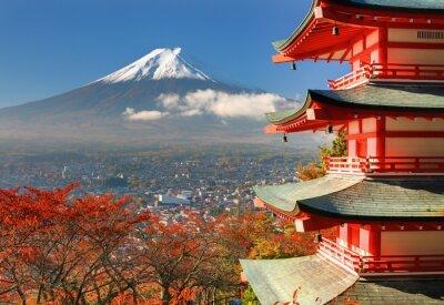 Fototapeta Mt. Fuji i Pagoda