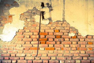 Fototapeta muro distrutto