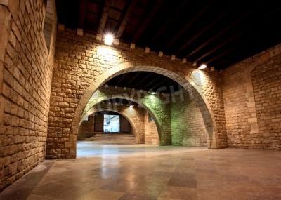 Fototapeta Muzeum Picassa w Barcelonie w Hiszpanii starego miasta