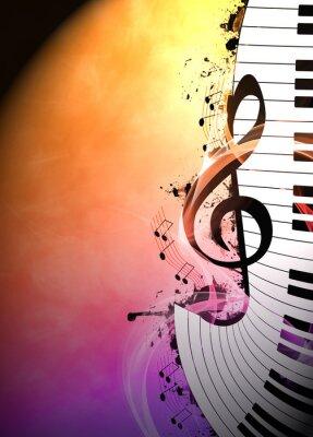 Fototapeta Muzyka w tle