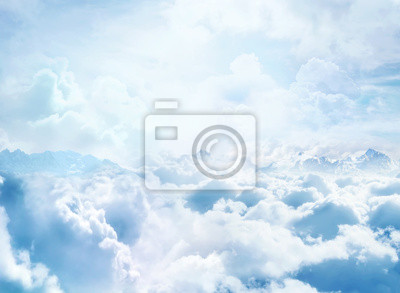 Fototapeta Nad chmurami