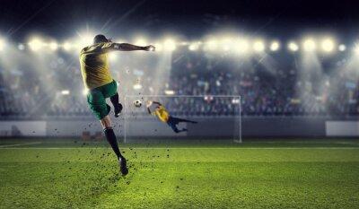 Fototapeta Najciekawsze momenty piłki nożnej