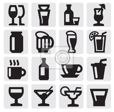 napój ikony