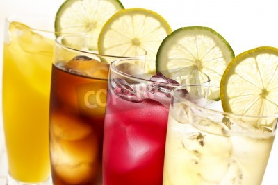 Fototapeta napoje bezalkoholowe