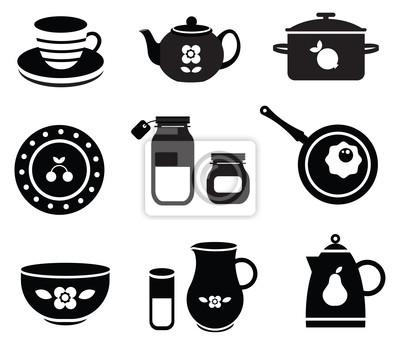 Narzędzia kuchenne wektorowe