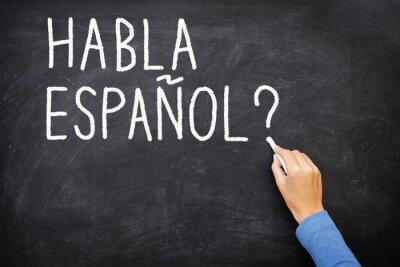 Fototapeta Nauka języka hiszpańskiego