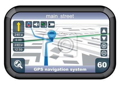 Nawigator GPS.