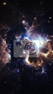 Fototapeta Nebula - Trzy