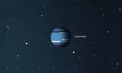 Fototapeta Neptun niebieską planetę