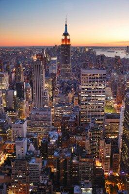 Fototapeta New York City Manhattan Empire State Building