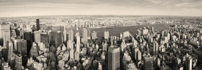 New York City Manhattan panorama z lotu ptaka