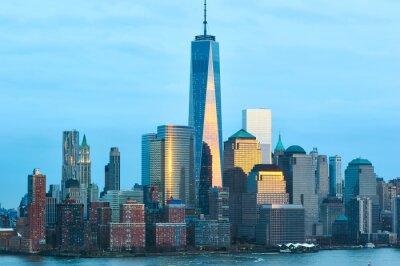 Fototapeta New York City Manhattan skyline