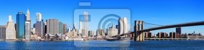 Fototapeta New York City Manhattan skyline panorama