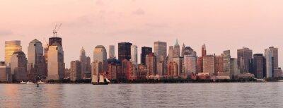Fototapeta New York City Manhattan skyline śródmieścia